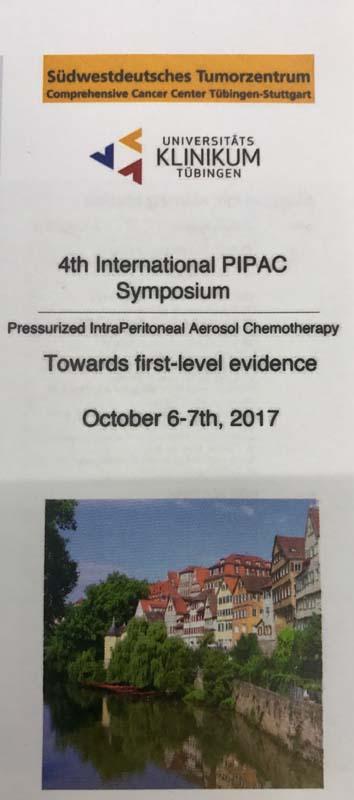 4-й международный симпозиум по аэрозольной внутрибрюшинной химиотерапии
